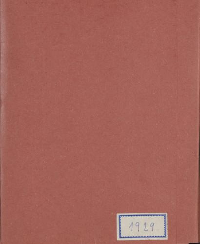 Programi koncerata 1929