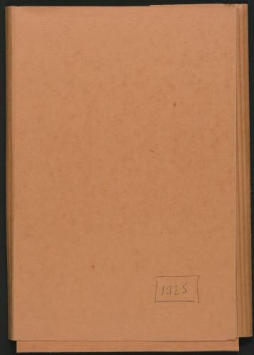 Programi koncerata 1925