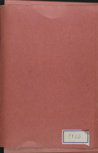 Programi koncerata 1926